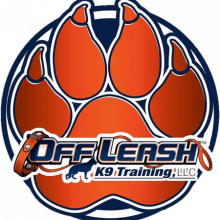 Off Leash K9 Training Paw Logo